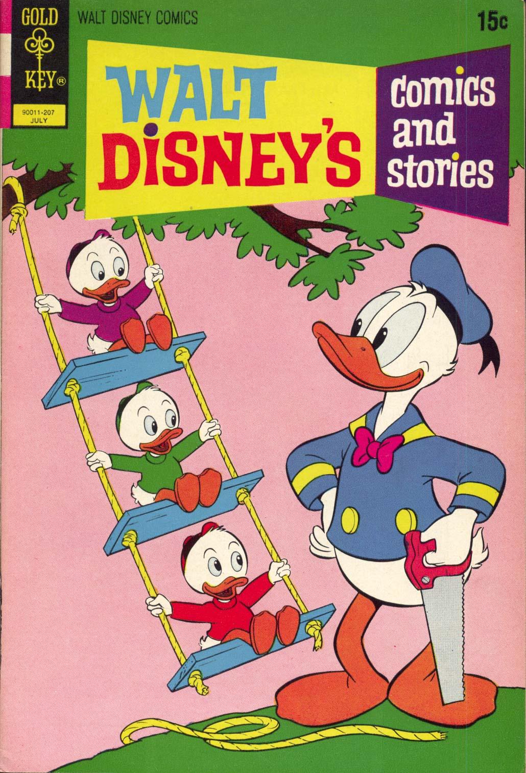 Walt Disneys Comics and Stories 382 Page 1