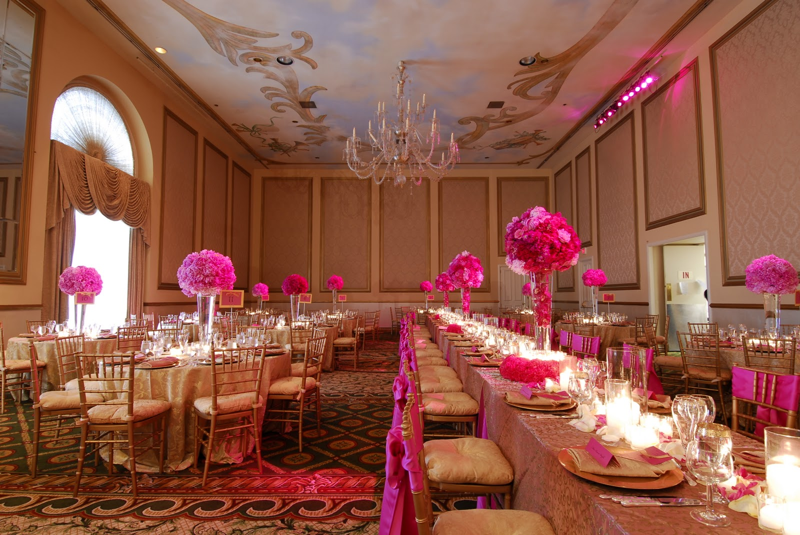 Pink Weddings Are H O T