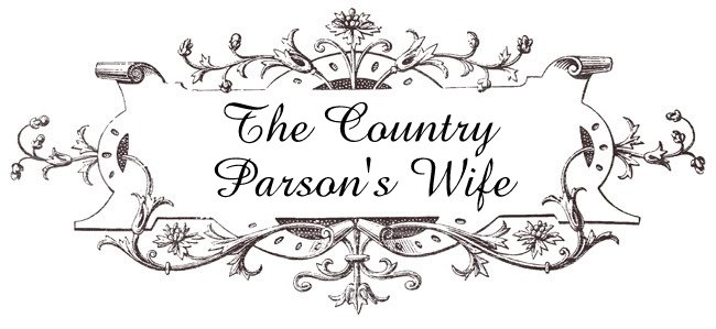 The Country Parson's Wife: Pastor Appreciation Supper!