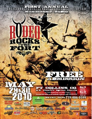 Rodeo Rocks Poster New