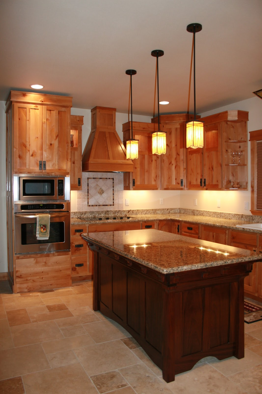 Alder Wood Kitchen Cabinets