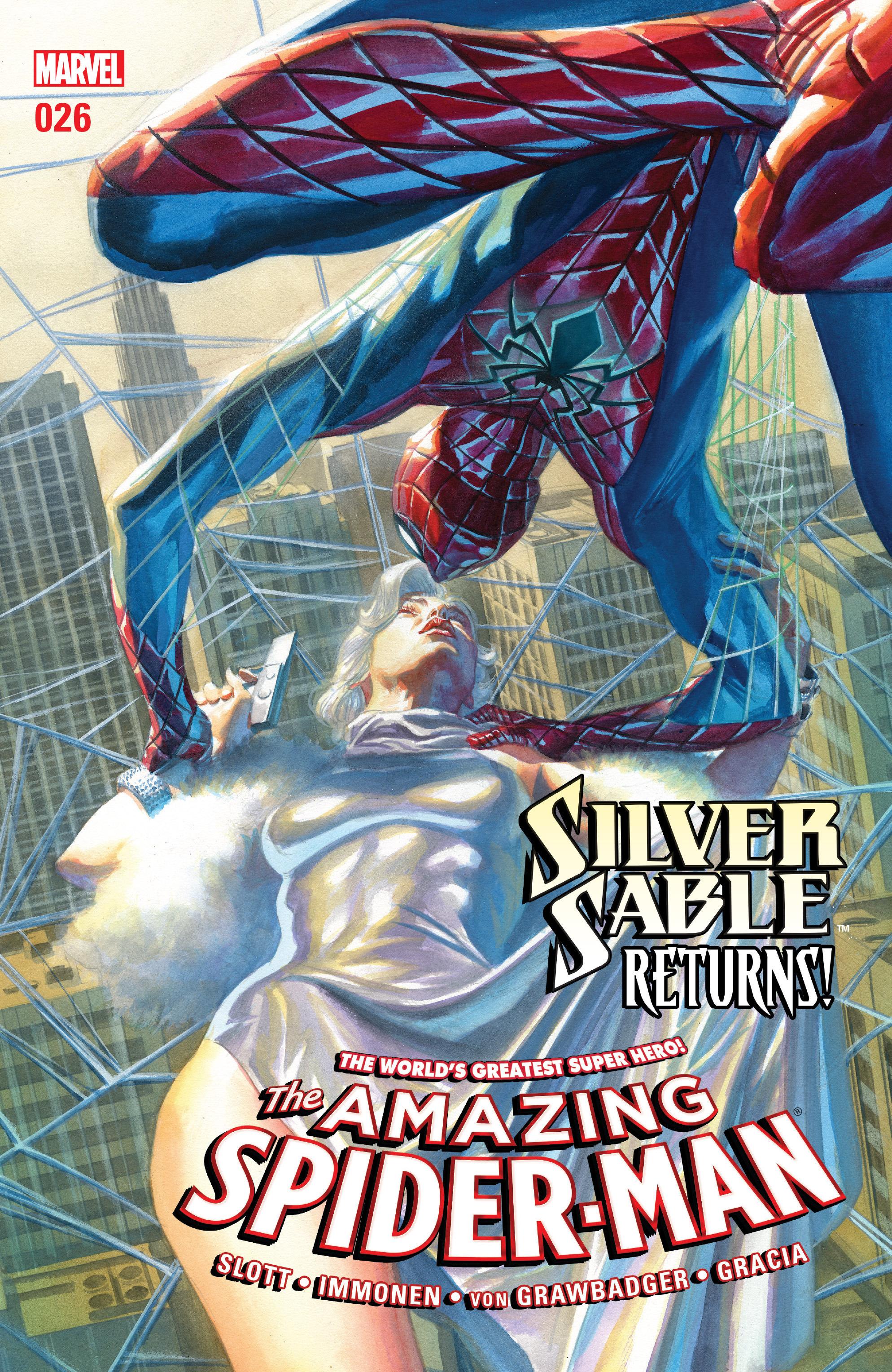 The Amazing Spider-Man (2015) 26 Page 1