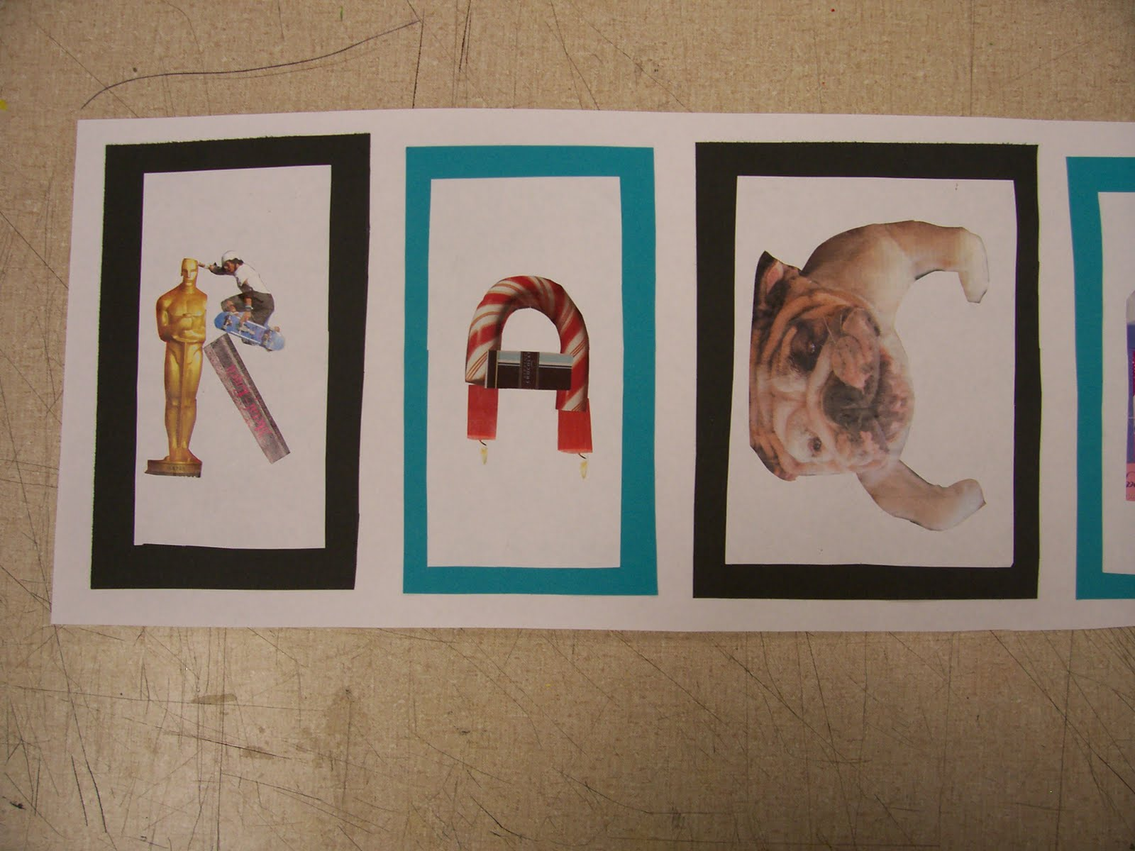 Mrs Weber S Art Class 8th Grade Name Collages