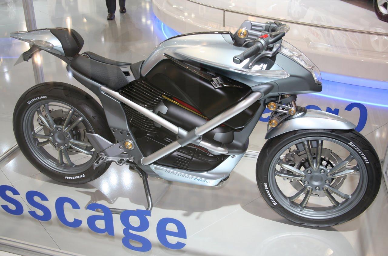 Suzuki Motorcycle Fuel Cell