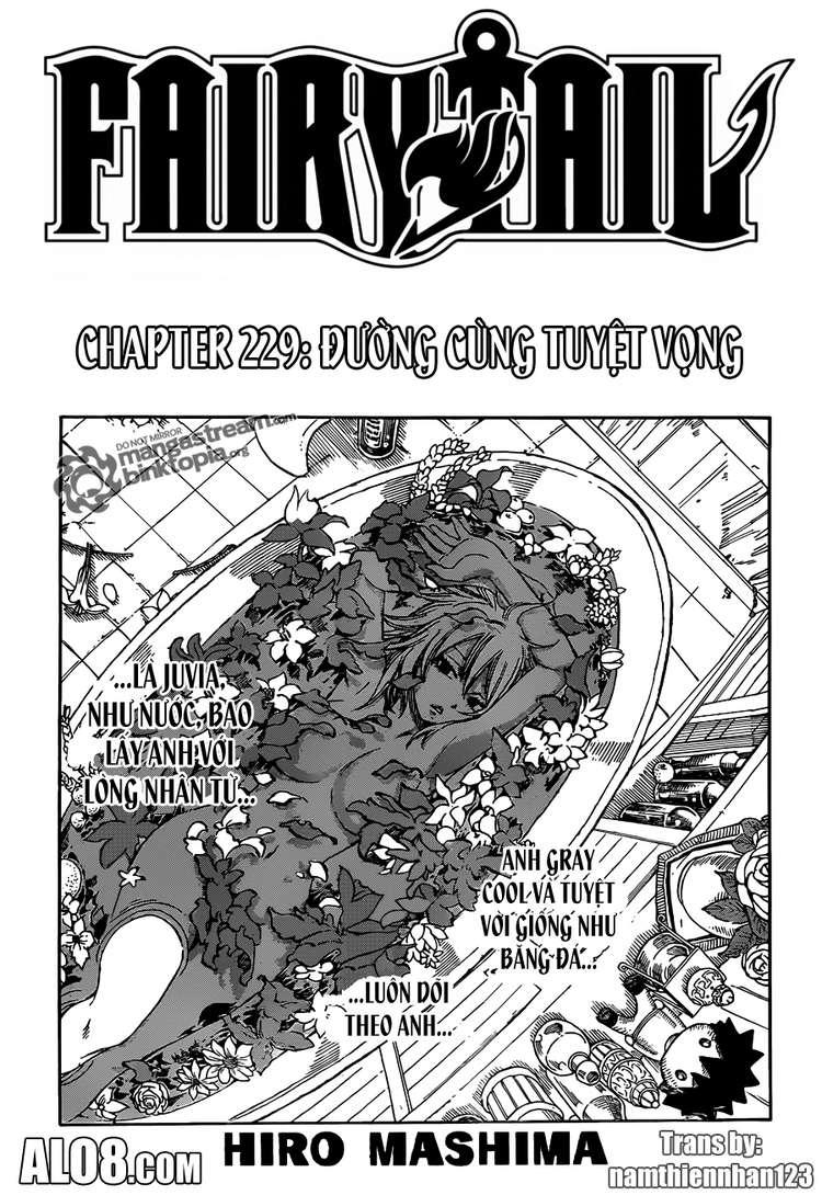 Fairy Tail chap 229 trang 1