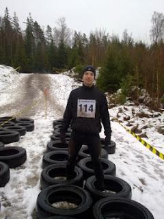 Christian Schmeikal posing after race Lejonruset 2010-11-21