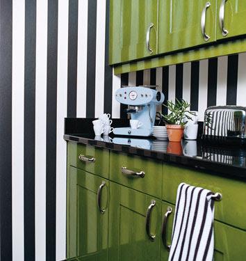 Through The French Eye Of Design Black And White Stripes