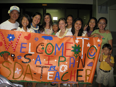 Bubbles in the Paradise: Welcome Saipan SDA School Teachers!
