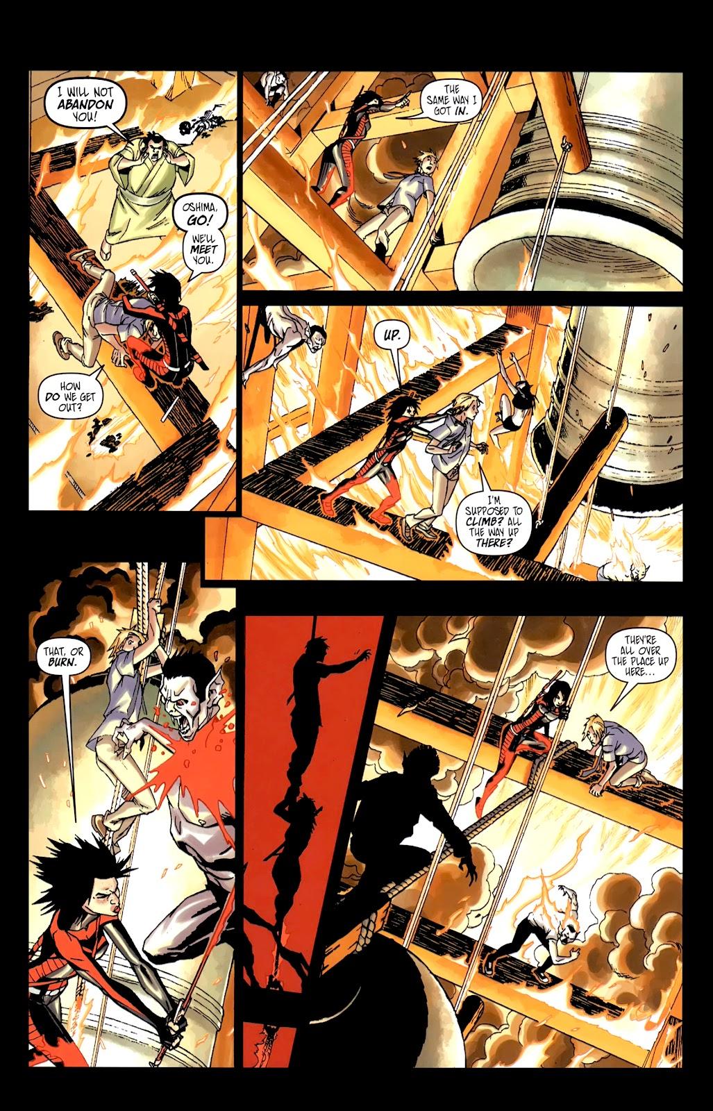 Read online Shinku comic -  Issue #5 - 22