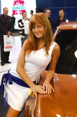 Hot girls from Moscow Auto