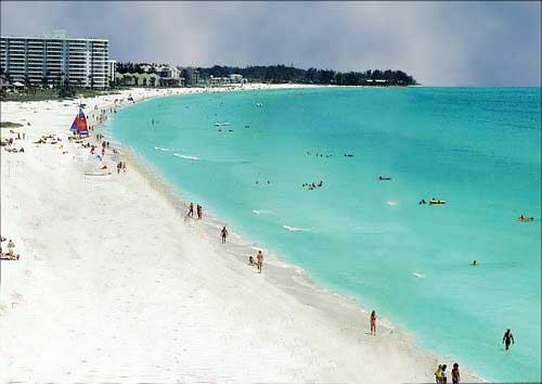 Winner Of The Worlds Finest Whitest Sand Siesta Key Public Beach Extends Along A Half Mile Most Pristine White Sands In World