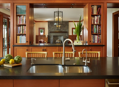 Design Decorate: Designer Kitchens: Glass-front Cabinets