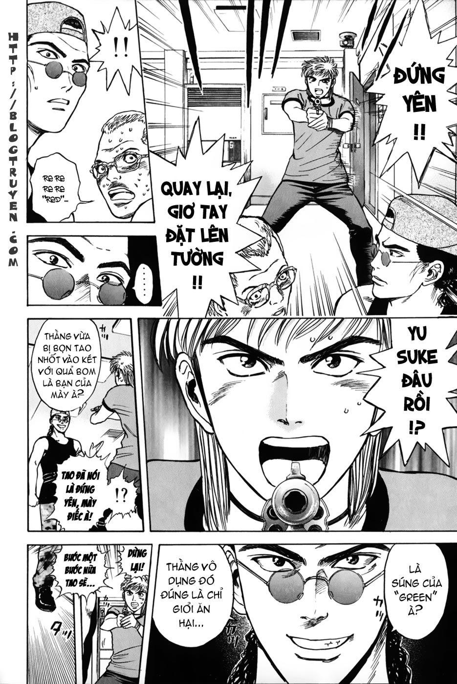 Psychometrer Eiji chapter 23 trang 8