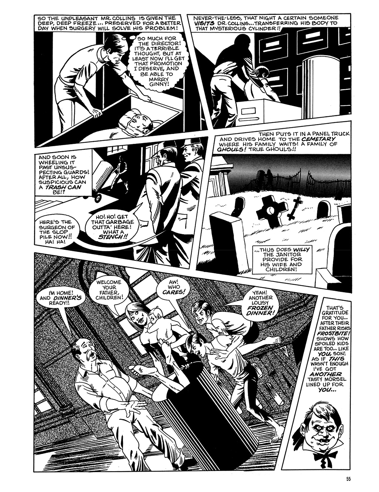 Read online Eerie Archives comic -  Issue # TPB 6 - 56