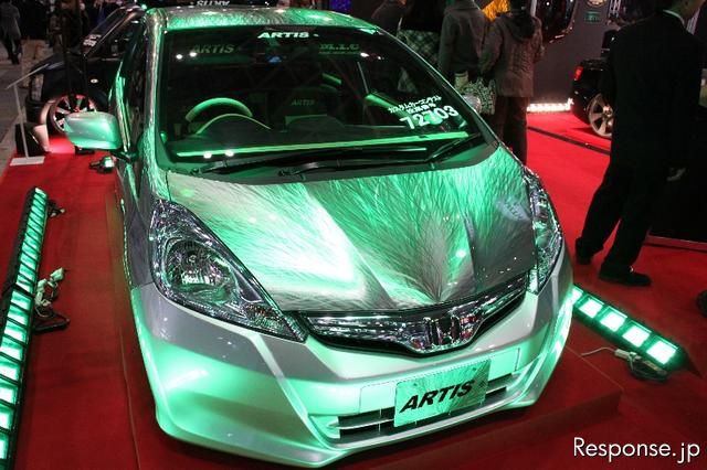 Now That S An Unusual Paint Job This Hologram Of Eeer Scratches Really Looks Cool And It Was Exhibited At The Tokyo Auto Salon