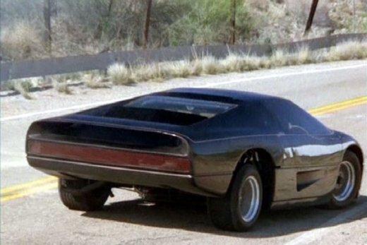 The Wraith Car: The Petrol Stop: Turbo Interceptor/ Dodge M4S