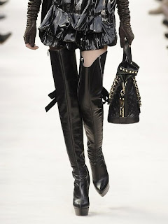 louis vuitton boots, over the knee louis vuitton tall boots, shoes, designer shoes, fall winter 2009