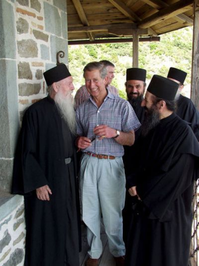Prince Charles To Return To Mount Athos Mystagogy