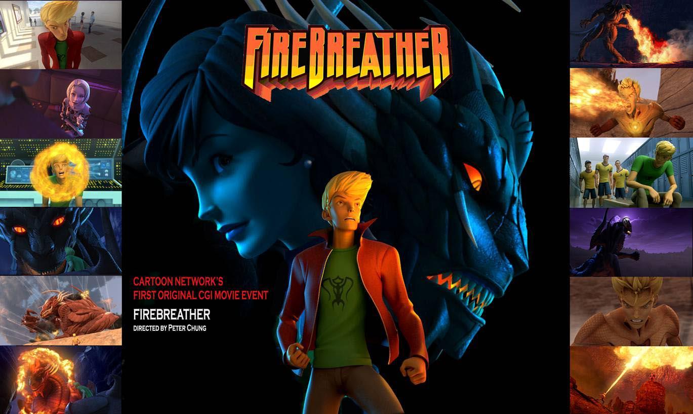 Firebreather Tvrip Cartoon Network 2010 Latino Pl Identi
