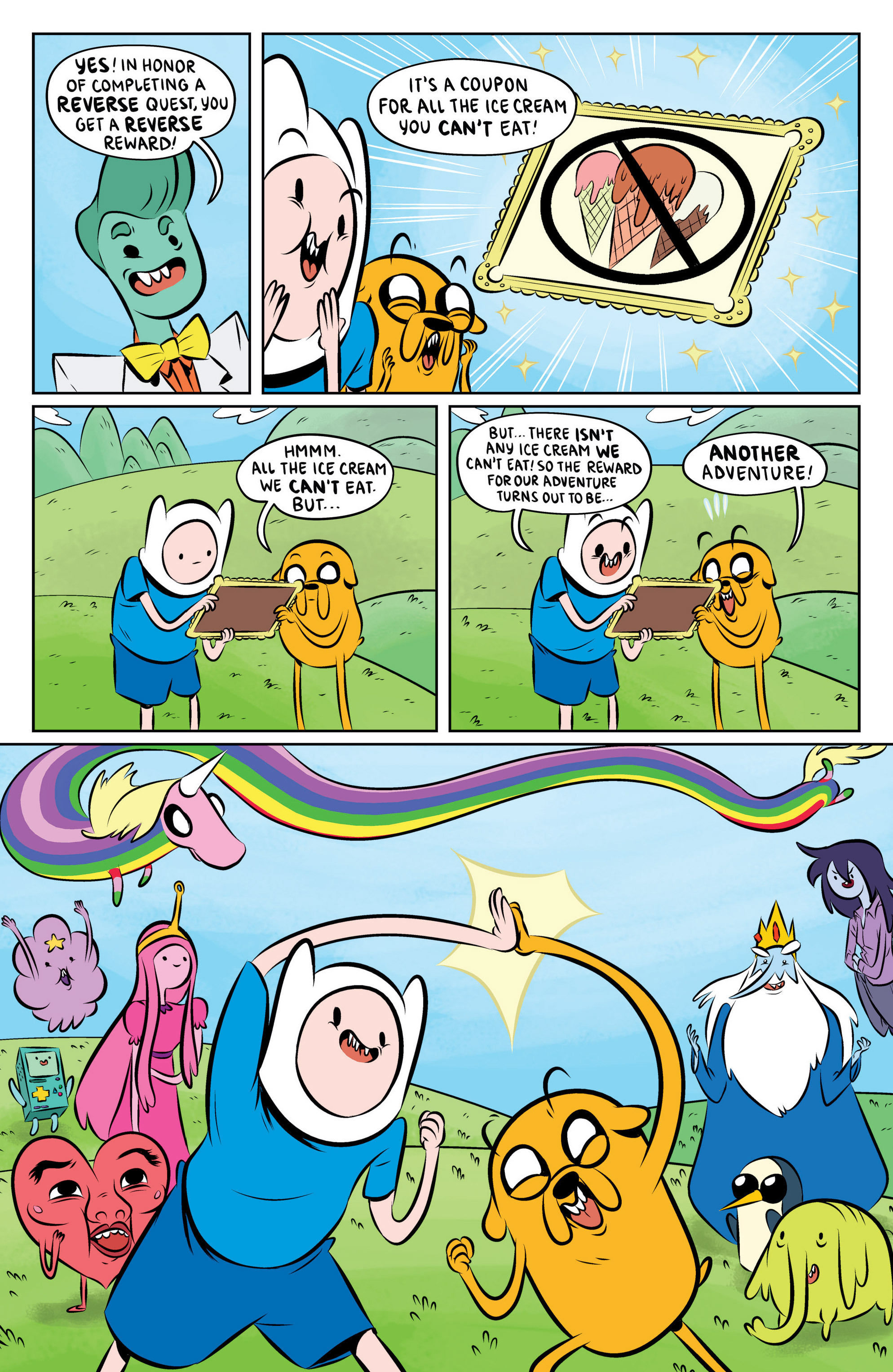 Read online Adventure Time: The Flip Side comic -  Issue #6 - 23