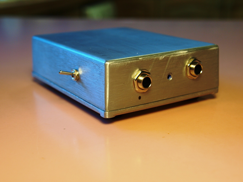 Mongrel Dog Audio: Piezo pickup preamp