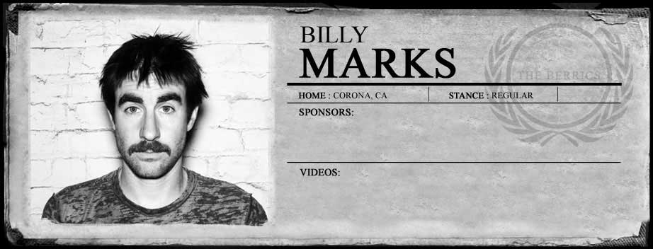 MARTIRIO skateboards: BILLY MARKS / LRG / SKATE AD
