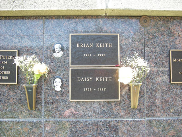 Brian and Daisy Keith at Westwood Cemetery - Father and Daughter Suicides