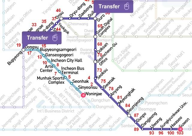 Seoul Subway Map 1989.The Amazing Adventures Of Carly And Korea Ishkabibble