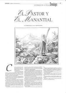 Criterios de un cronista: LEYENDAS DE LA RIOJA LA SOMBRA