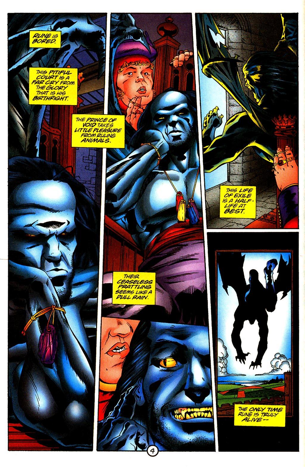 Read online Rune (1995) comic -  Issue #4 - 5