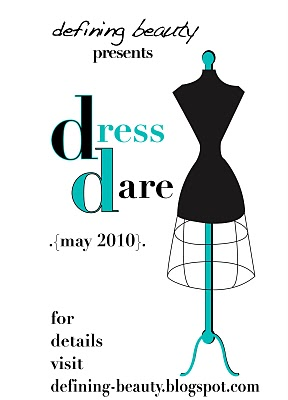 The Dress Dare starts tomorrow