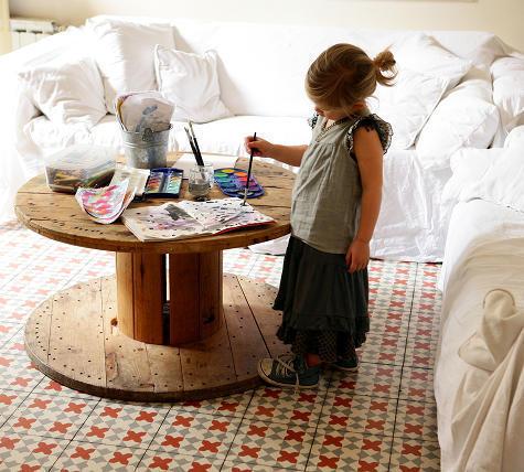 Bajitos originales muebles reciclados - Muebles originales reciclados ...