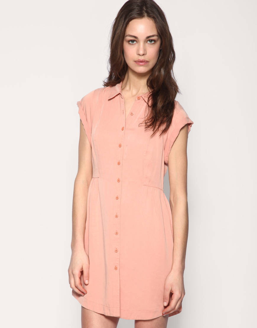 DIY - Shirt Dress   A Pair & A Spare