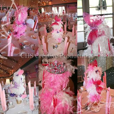 CHS Creative Productions: Fancy Nancy Centerpieces~