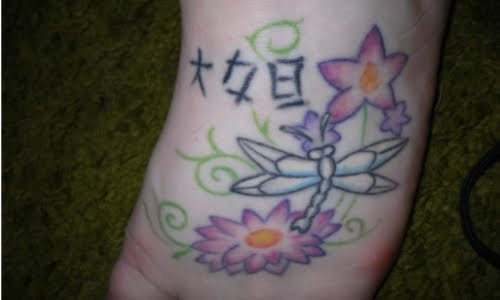 Foot tattoo designs for women Foot tattoo designs for women