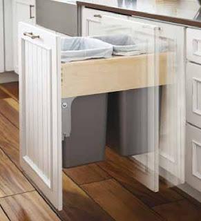 Designer Kitchen Bins