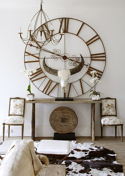 Cupboards Kitchen and Bath: Should we move the clock a little?