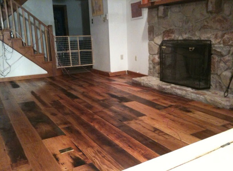 Spirit Wood Antique Oak Barnboard Floor