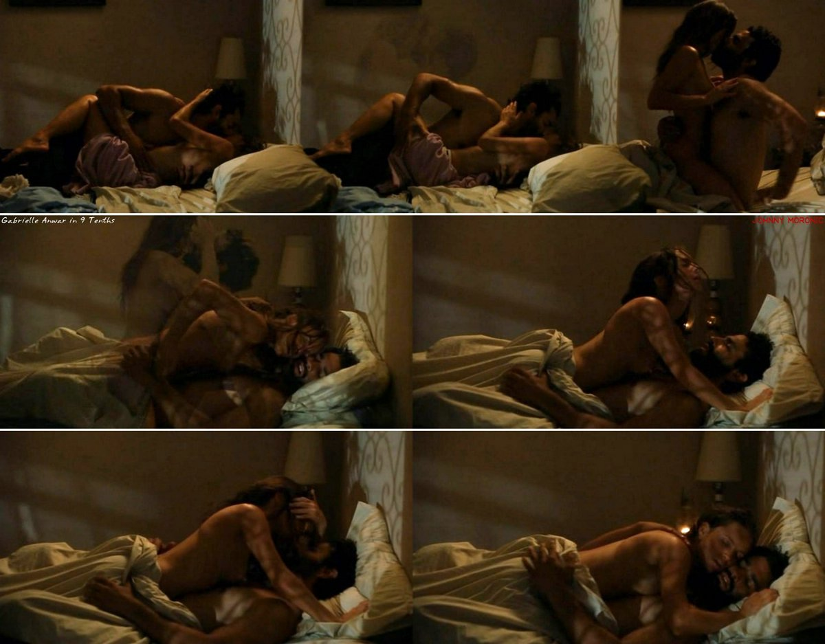 Free preview of gabrielle anwar naked in burn notice