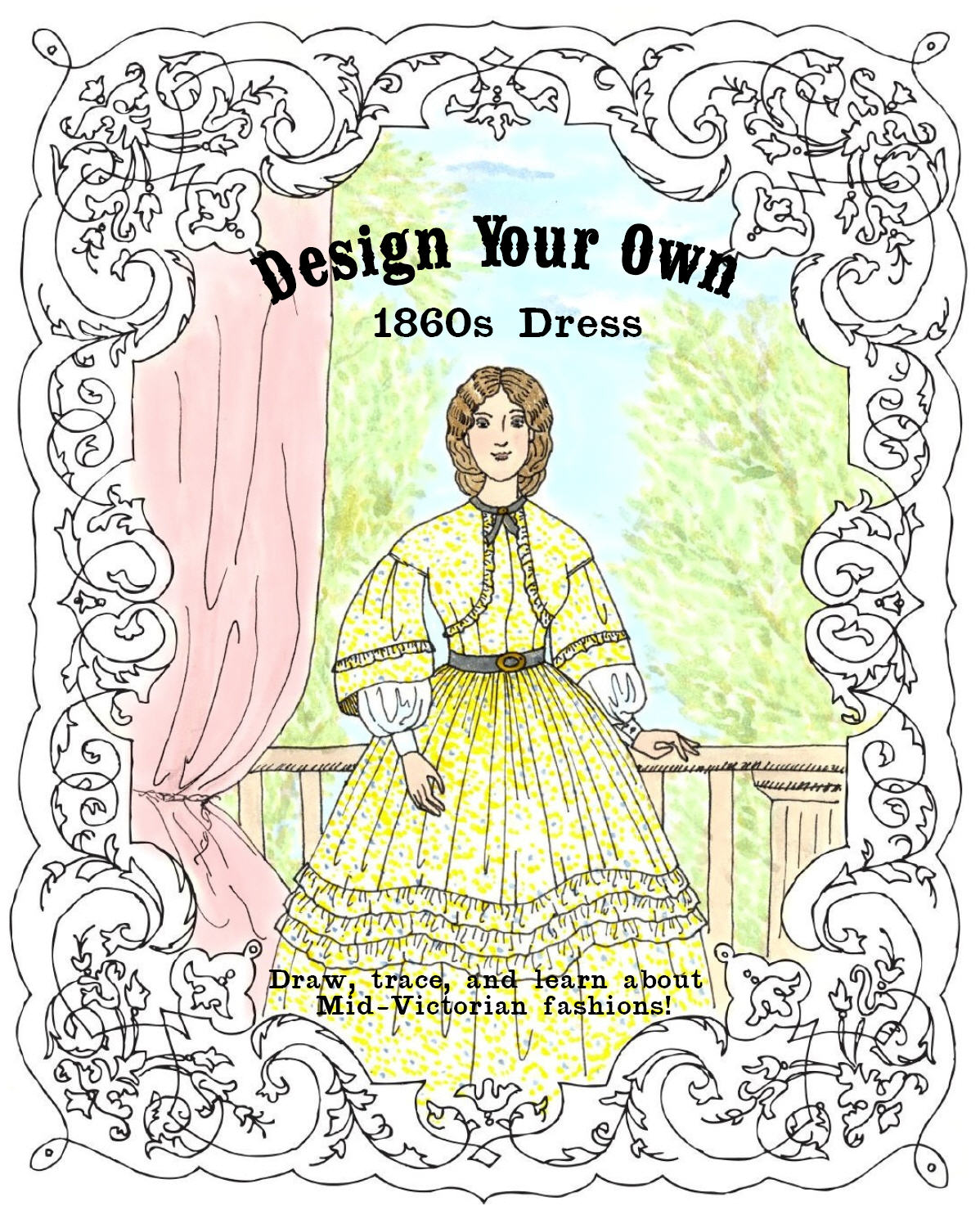 Make Your Own Dress Design: The Story Of A Seamstress: Announcing: Design Your Own