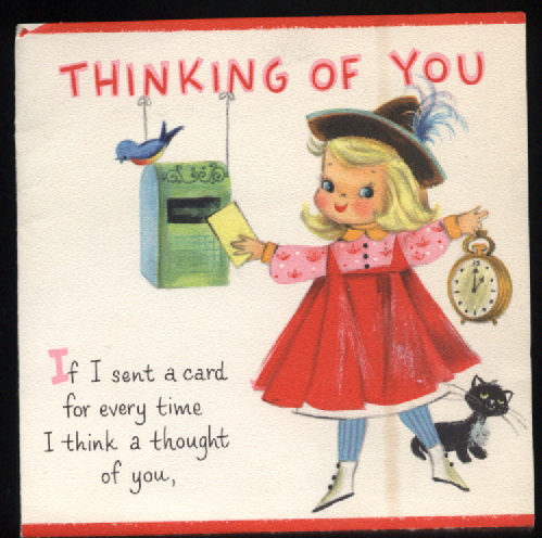 vintage recycling: vintage Greeting Cards featuring ...