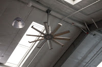 ceiling fan ad metal halide fixture