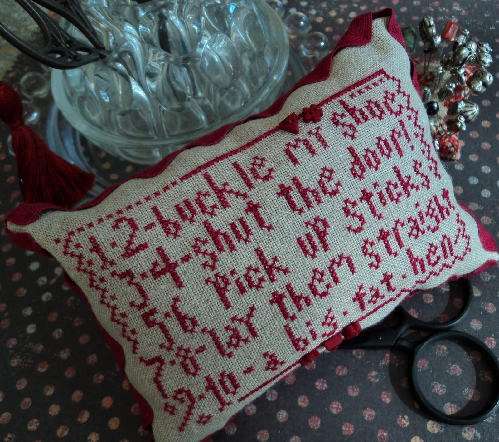 La D Da Lovers And Stitchers Blog 1 2 Buckle My Shoe