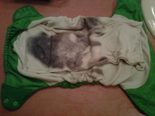 Cloth Diaper Addiction Bac Out Bio Clean