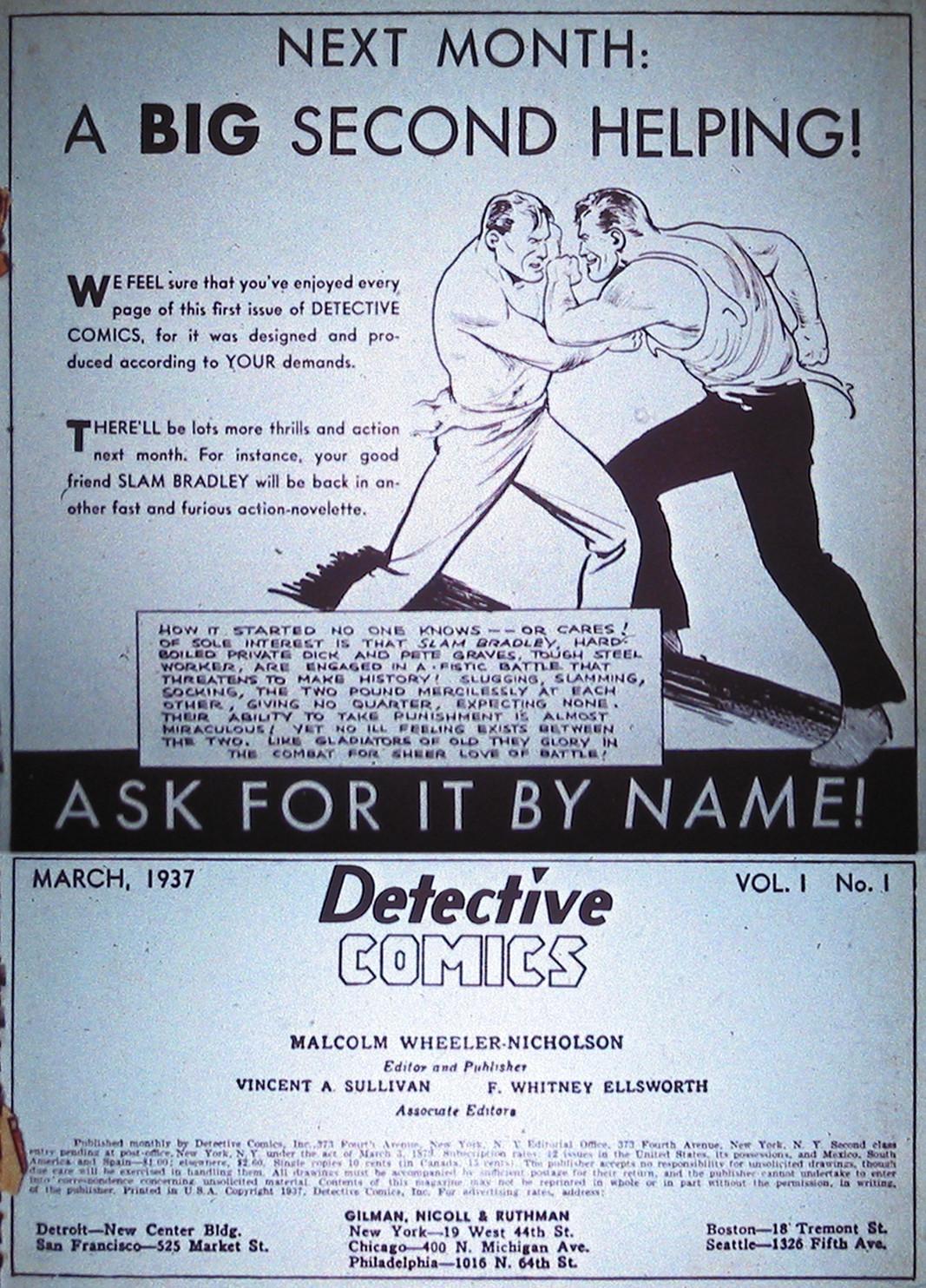 Read online Detective Comics (1937) comic -  Issue #1 - 68