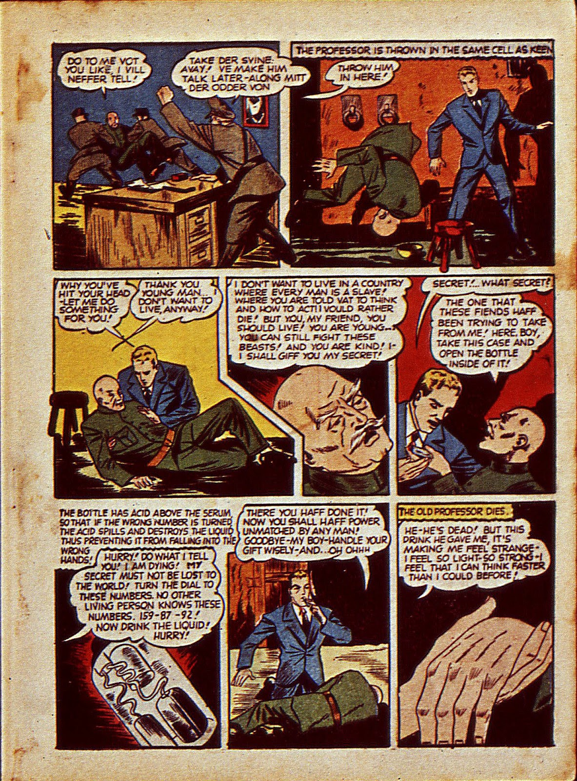 Mystic Comics (1940) issue 6 - Page 10