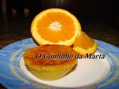 receita queijadas de laranja