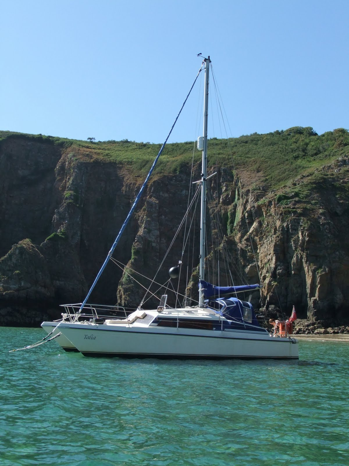 Sail Channel Islands: Sail To Anywhere ...: Channel Islands 2010