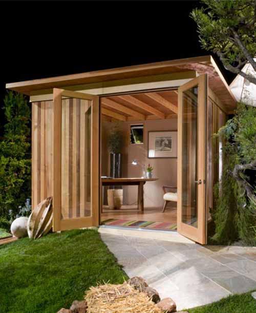 Prefabricated Houses: Fine Living: Prefab Cabanas Catch On