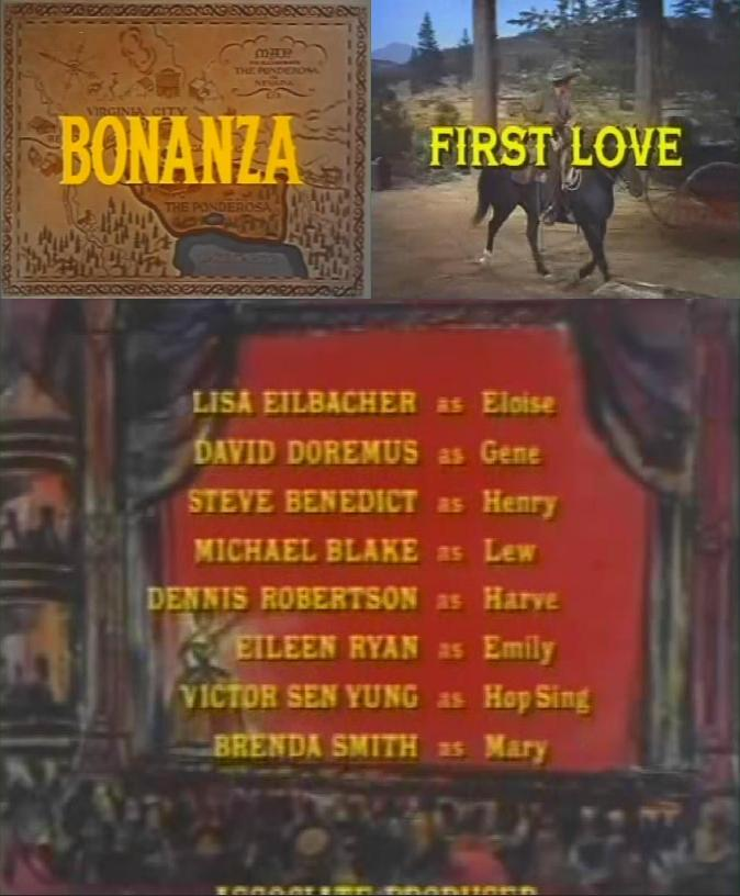 Bonanza First Love